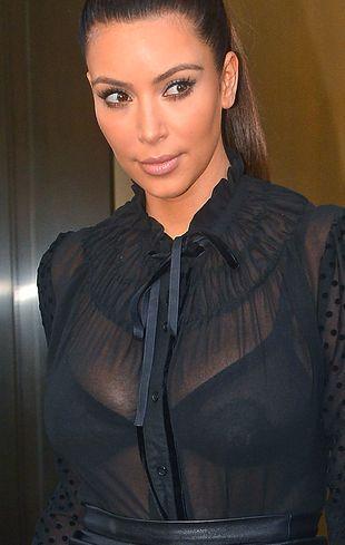 Kim Kardashian nosi rzęsy z… norek!