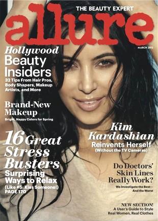 Kim Kardashian w magazynie Allure (FOTO)