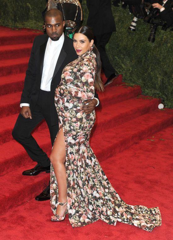 Kim, Kanye i North lubią wspólne drzemki