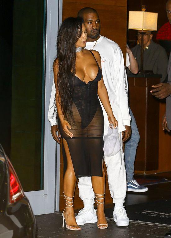 To pierwszy raz, gdy Kanye West wstydził się za Kim Kardashian?
