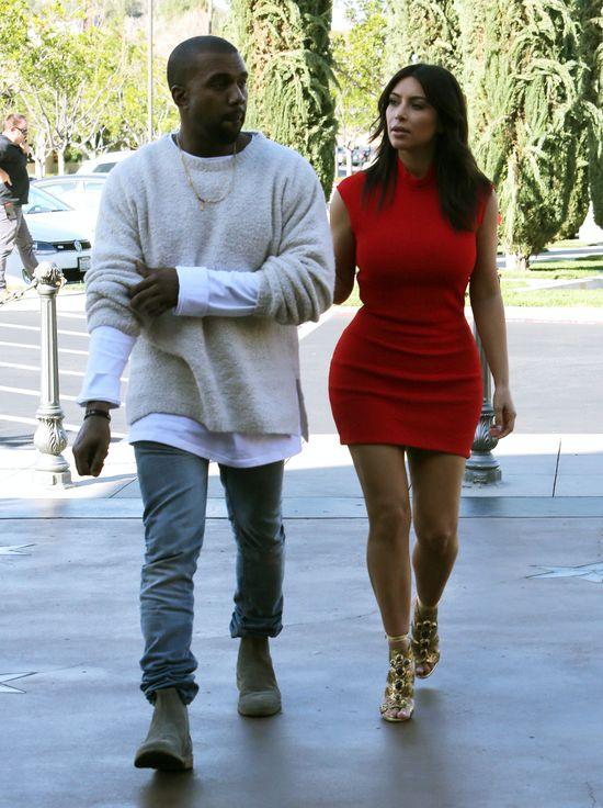 Kanye West podarował Kim nietypowy prezent