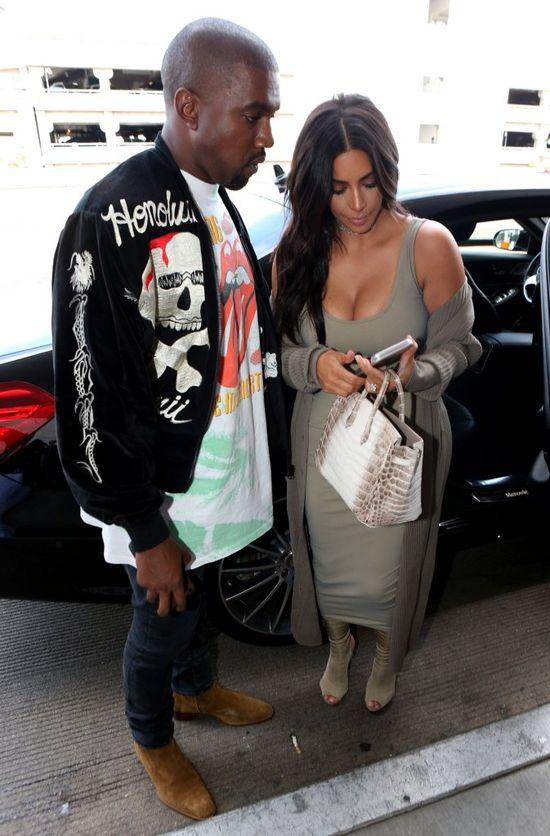 Kanye West nie wytrzymał i huknął na Kim Kardashian w restauracji