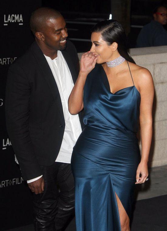Absurdalna kłótnia Kim Kardashian i Kanye Westa