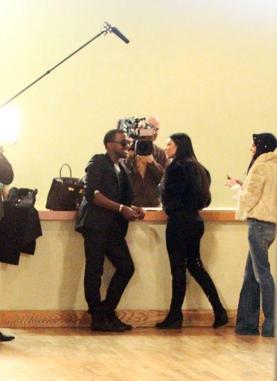 Kanye West wpatrzony w Kim Kardashian w 2008 roku