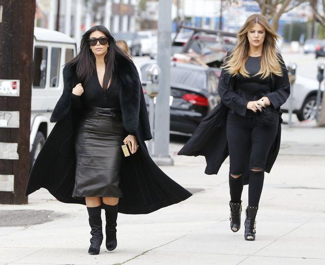 Sióstr Kardashian czasem można się przestraszyć (FOTO)
