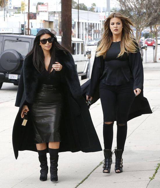 Si�str Kardashian czasem mo�na si� przestraszy� (FOTO)