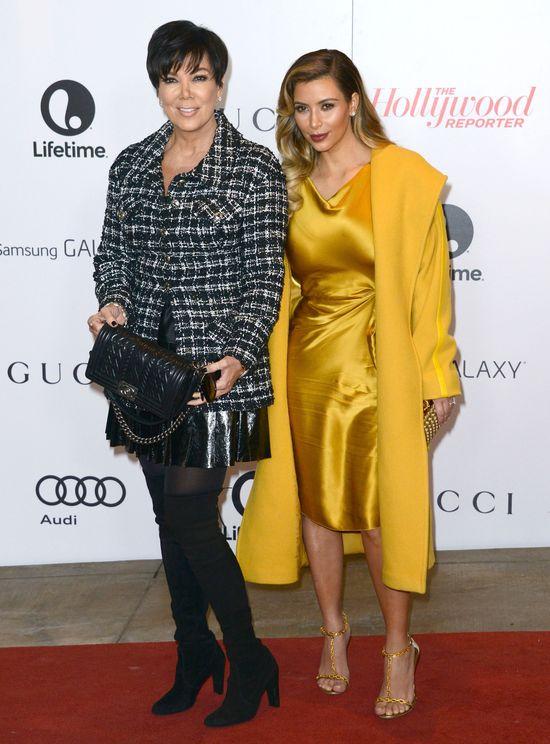 Kim Kardashian tonie w złocie (FOTO)