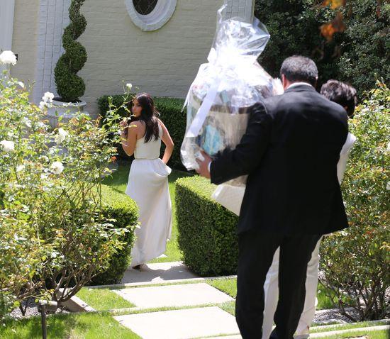 Kris Jenner wprosiła się na baby showe Ciary? (FOTO)
