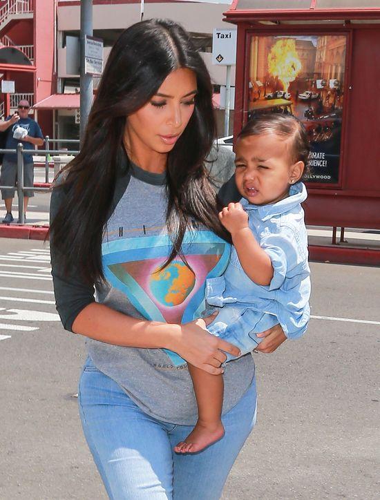 Niania Nort West ujawnia, ile czasu Kim spędza z córką