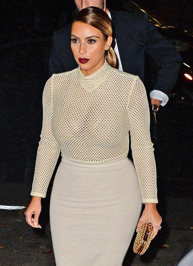 Kim Kardashian słodzi sobie miesiąc miodowy