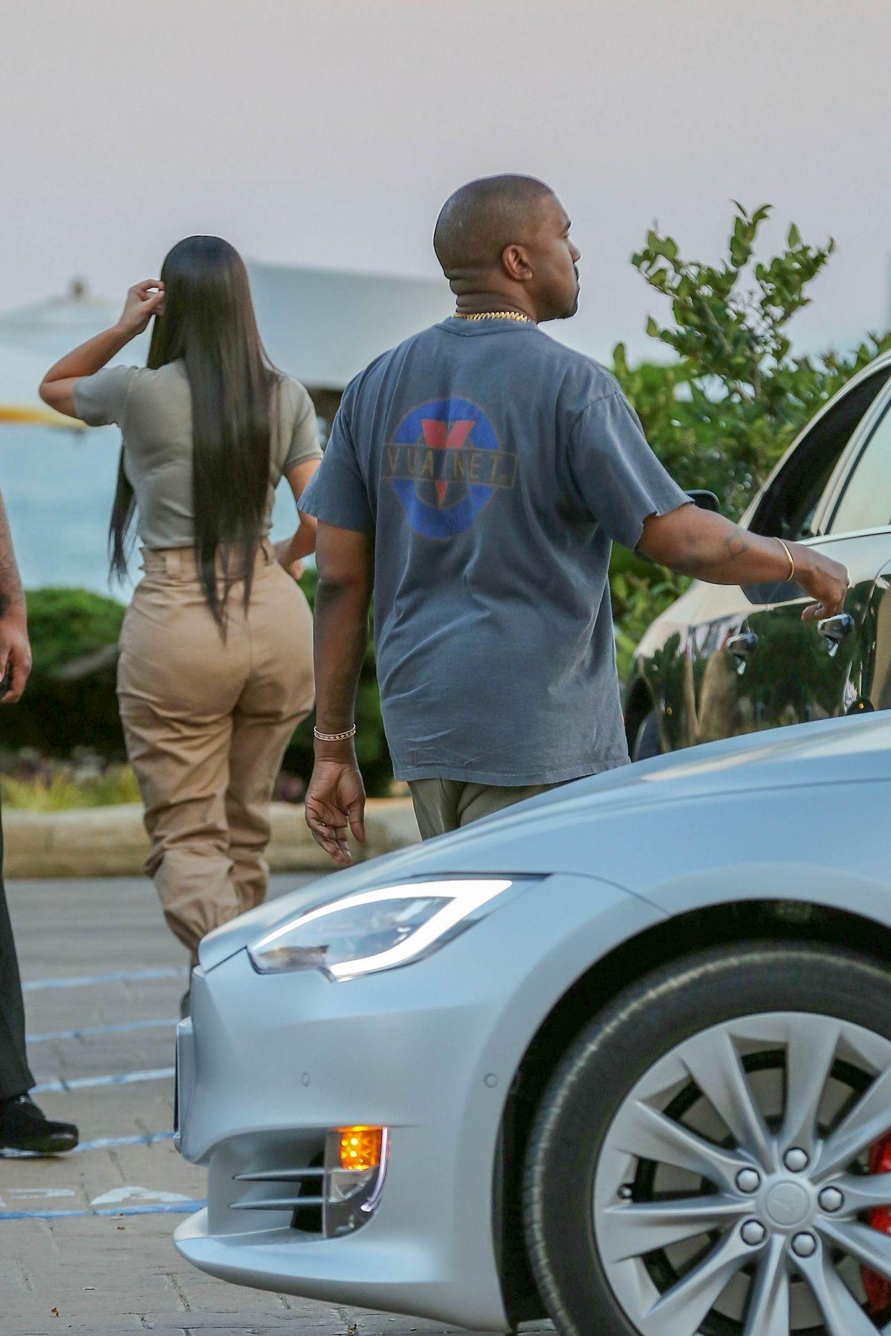 Kim Kardashian z Kanye Westem na RANDCE (ZDJĘCIA)