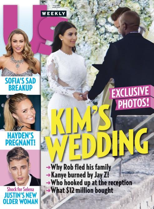 Kim Kardashian upokorzona na własnym ślubie?(FOTO)