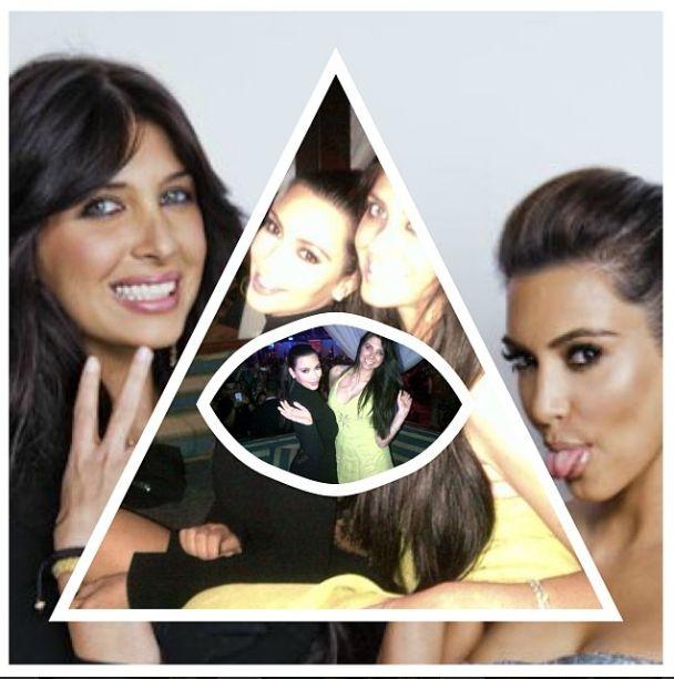 Kim Kardashian należy do Iluminatów? (FOTO)