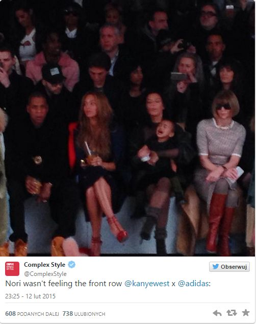 Anna Wintour podsumowała obecność North West na pokazie mody