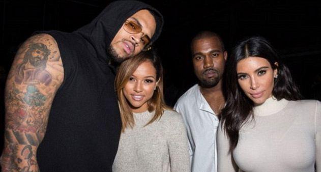 Spięcie na linii Kim Kardashian-Karrueche Tran (FOTO)