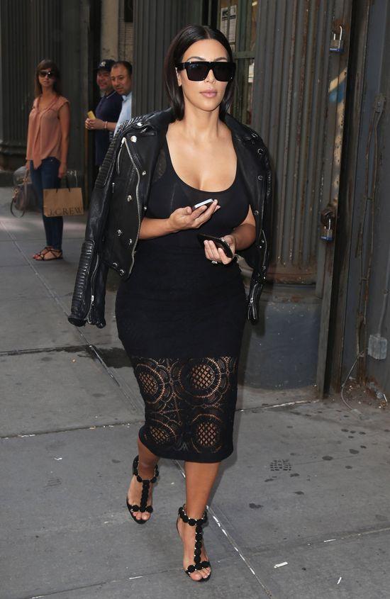 Pierwsze spi�cie na linii Kim Kardashian-Kanye West (FOTO)