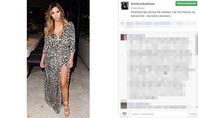 Kim Kardashian pracuje nad sylwetk� nawet w nocy!
