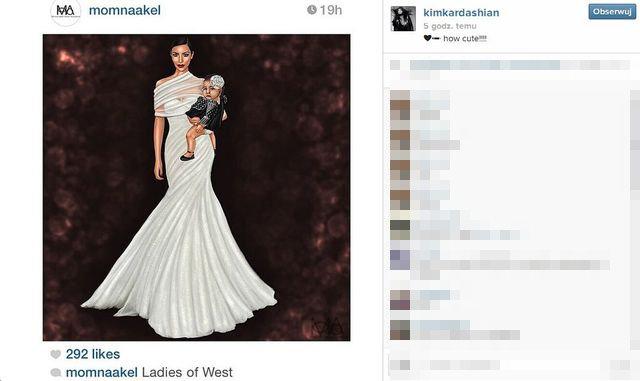 Tak wygląda wymarzona suknia Kim Kardashian? (FOTO)