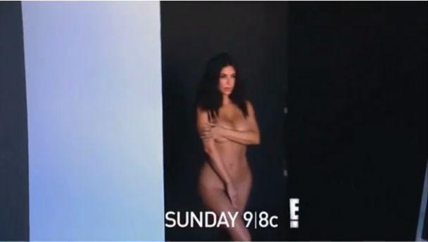 Kim Kardashian znowu kompletnie naga (Instagram)