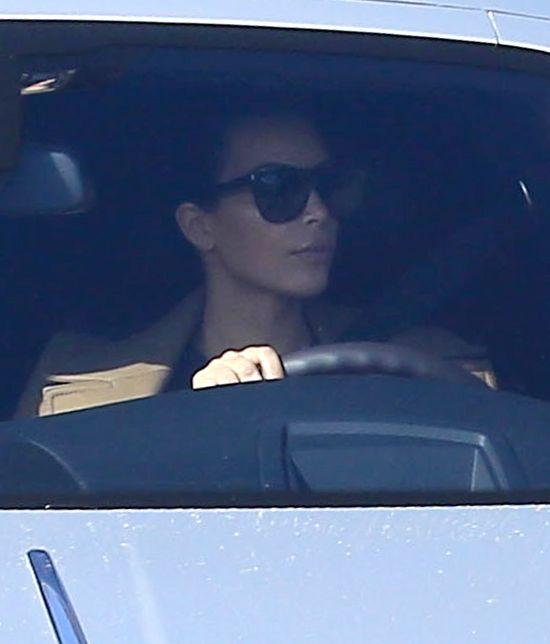 Kim Kardashian zrobiła coś bardzo brzydkiego w samochodzie