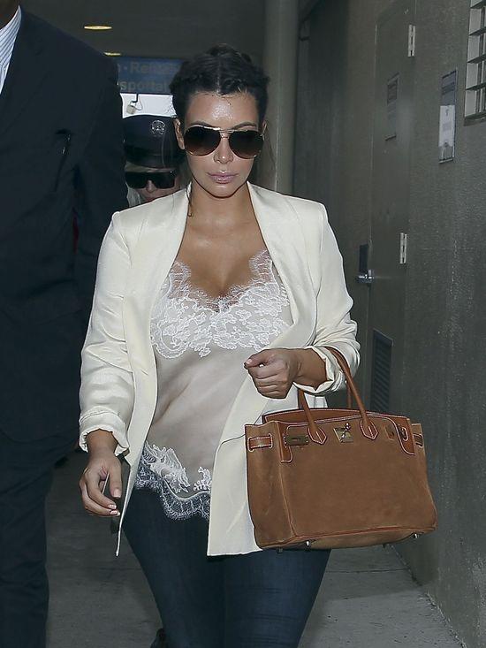 Bardzo zły dzień Kim Kardashian (FOTO