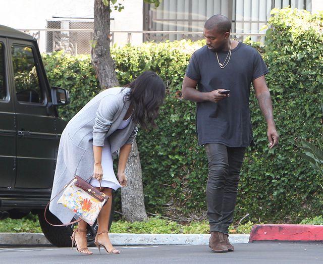 Kim wreszcie pokazała torebkę pomalowaną przez Nori