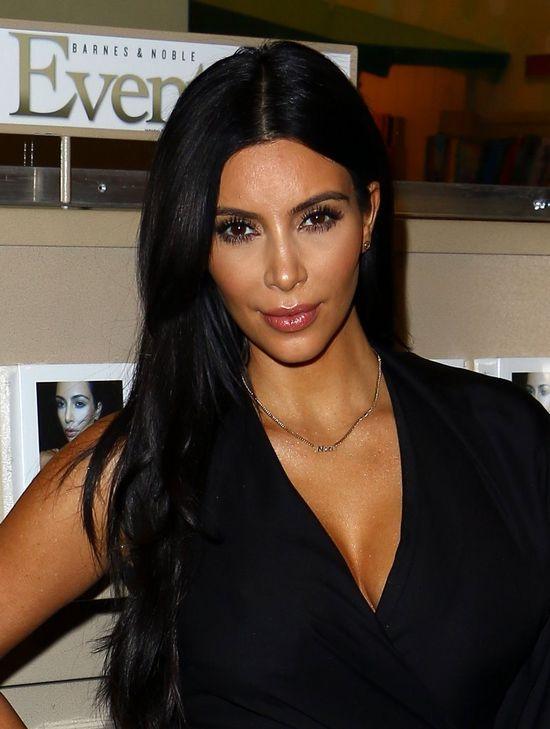 Kim Kardashian bardzo się starała na promocji swojej książki