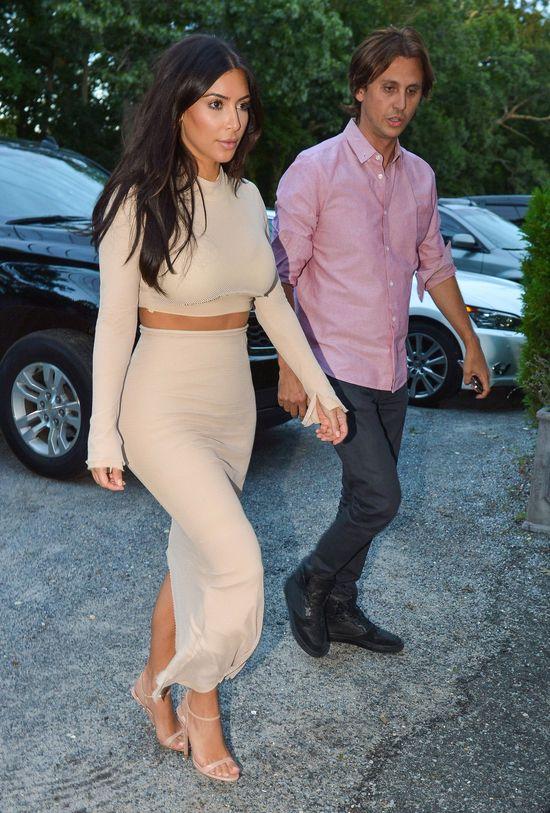 Wszyscy na luzie, a Kim Kardashian... (FOTO)