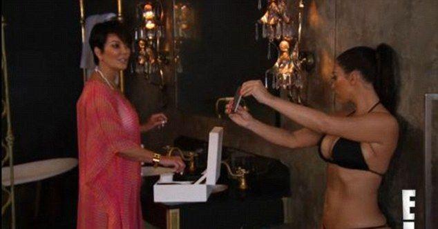 Kris Jenner zaczyna powa�nie martwi� si� o Kim (VIDEO)