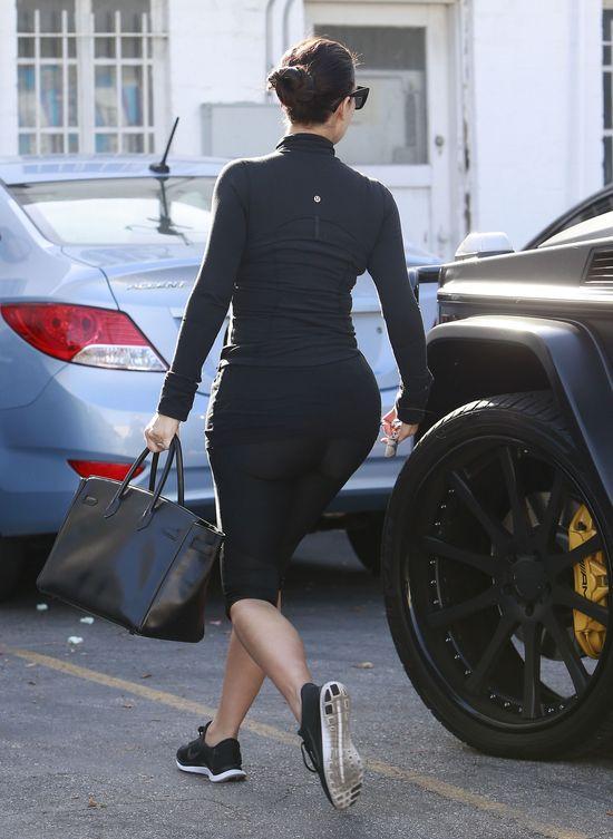 Dzie� w dresie w wydaniu Kim Kardashian (FOTO)