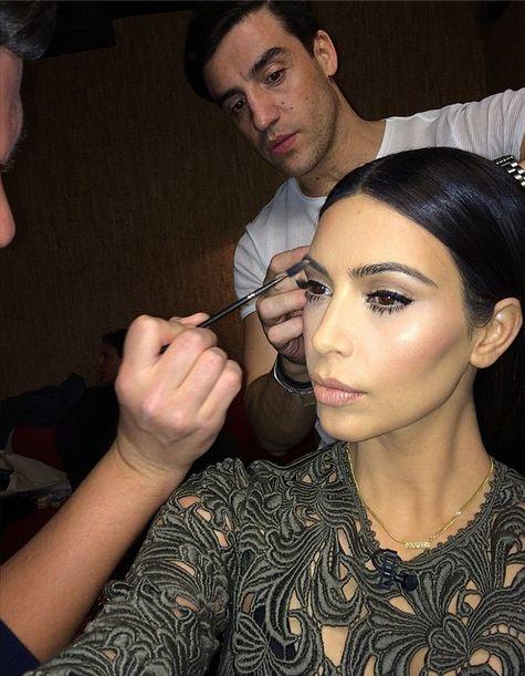 Szok! Kim Kardashian jest źle pomalowana (FOTO)