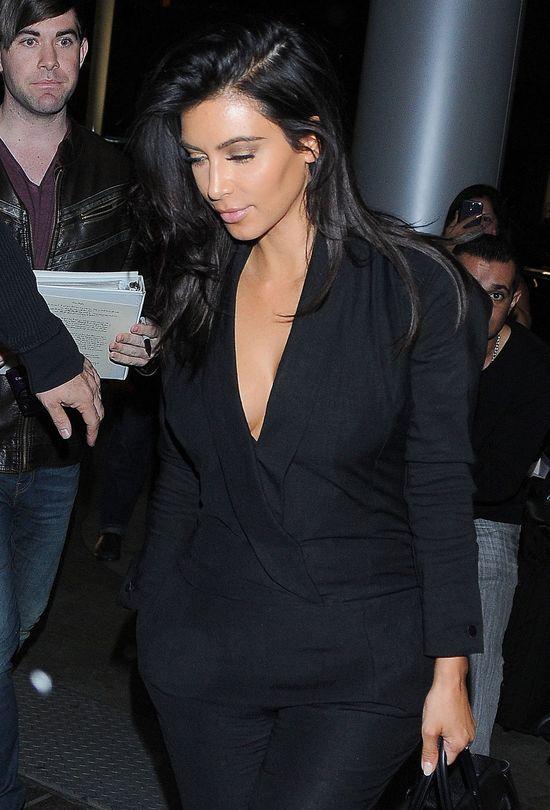 Kim Kardashian tym razem si� nie popisa�a (FOTO)