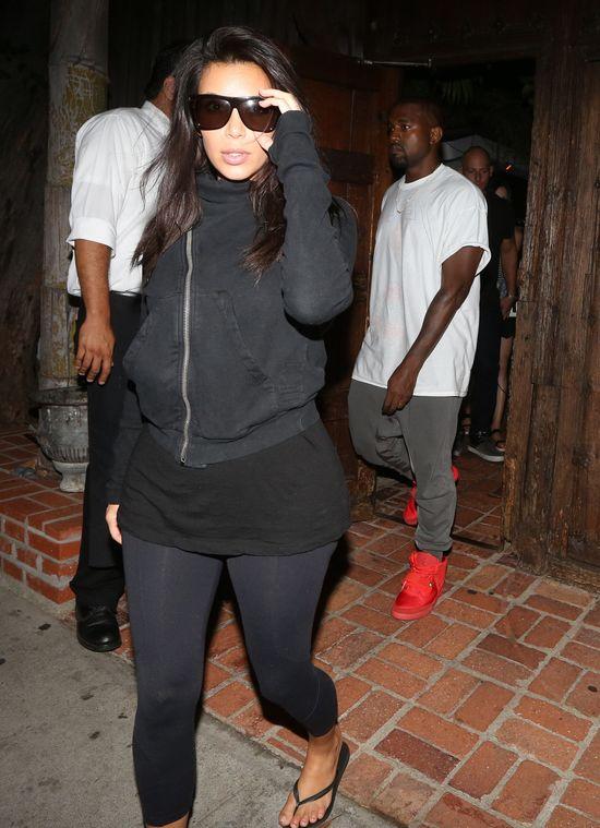 Kim Kardashian przyłapana! (FOTO)