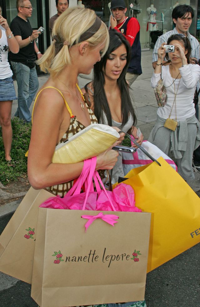 Kiedy Kim Kardashian była asystentką Paris Hilton... (FOTO)