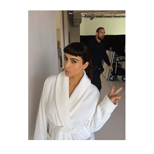Kim Kardashian przebrana za Audrey Hepburn (FOTO)