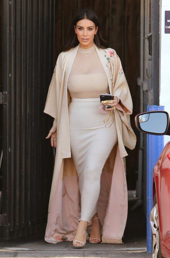 Ile wa�y Kim Kardashian 4 miesi�ce po urodzeniu syna?