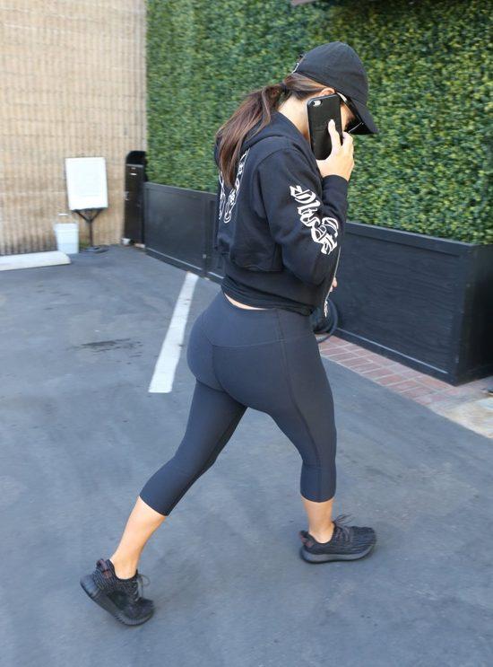 U Kim Kardashian nastała moda na legginsy (FOTO)