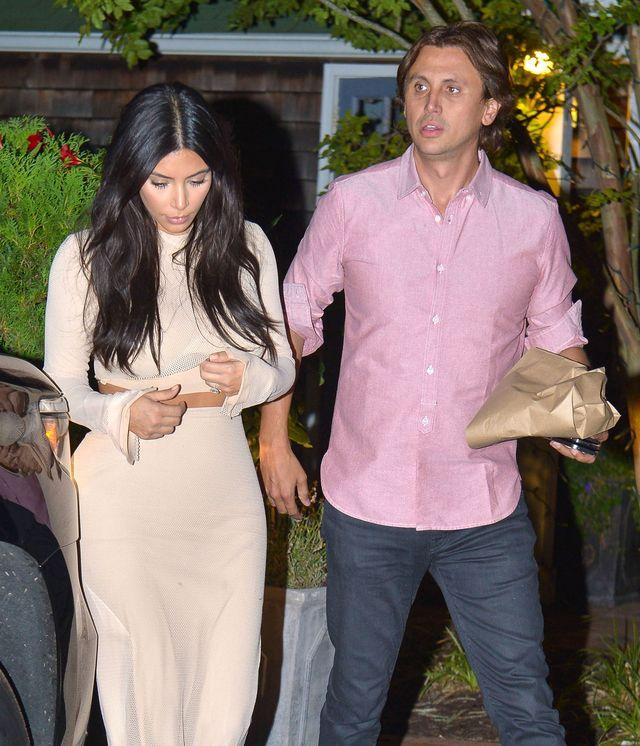 Widzicie strach w oczach Kim Kardashian?