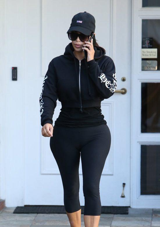 U Kim Kardashian nasta�a moda na legginsy (FOTO)