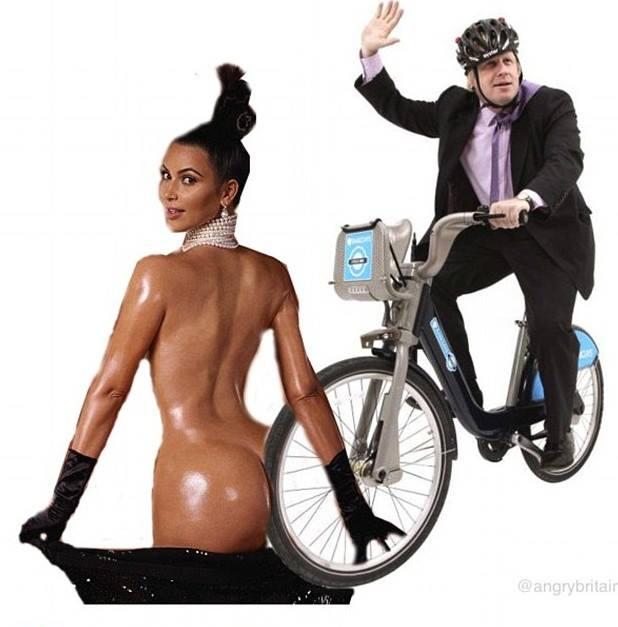 Internauci śmieją się z GIGANTYCZNej pupy Kim Kardashian
