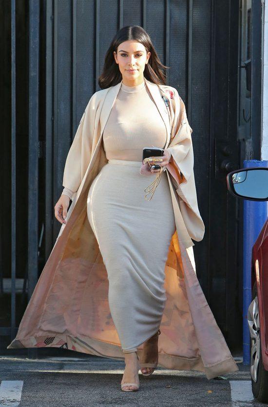 Ile waży Kim Kardashian 4 miesiące po urodzeniu syna?