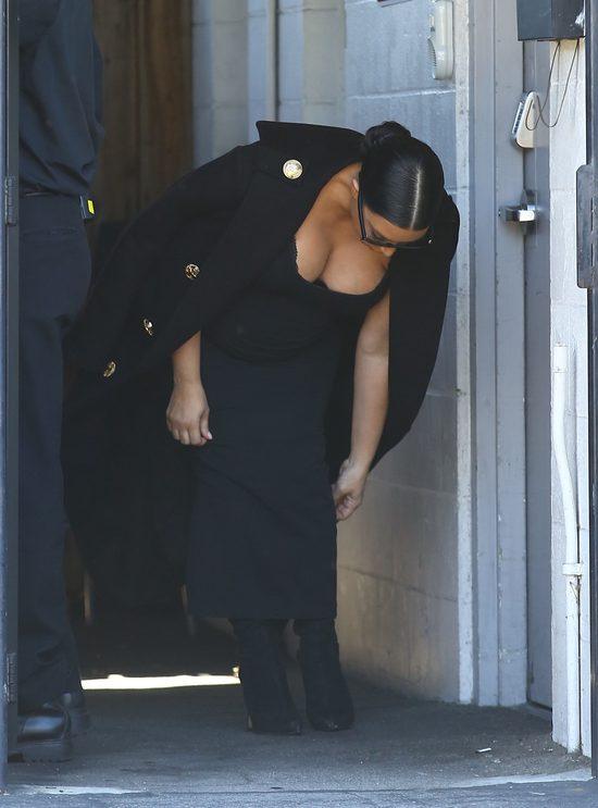 Kim Kardashian do porodu pójdzie jak Anna Mucha? (FOTO)