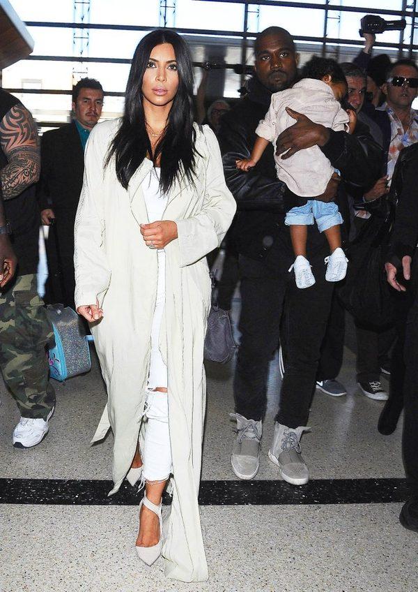 Kim Kardashian chce być jak Angelina Jolie? (Instagram)
