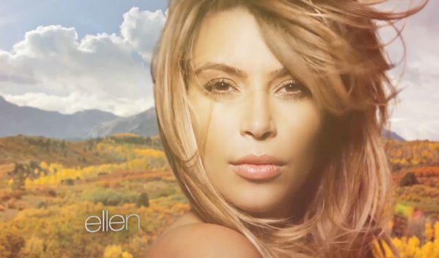 Kim Kardashian z włosami na plecach? [VIDEO]