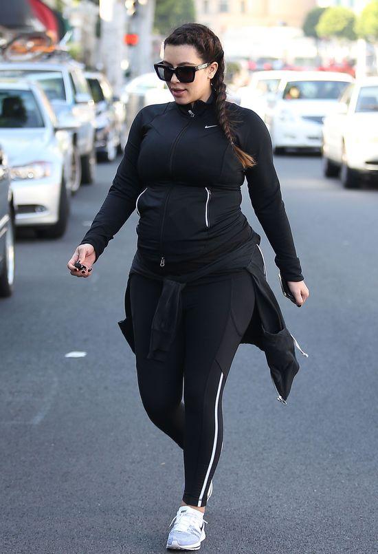 Kim Kardashian już świętuje dzień matki