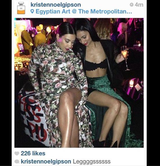 Kim Kardashian nie trafiła z kreacją na MET Gala