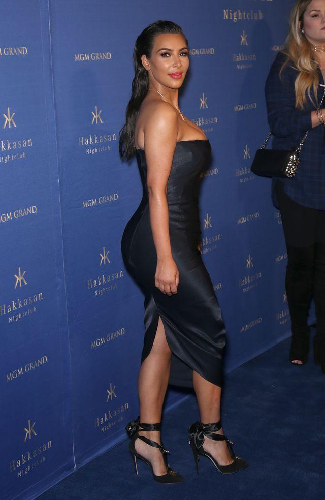 Photoshopowa WPADKA Kim Kardashian! Chciała się wyszczuplić...
