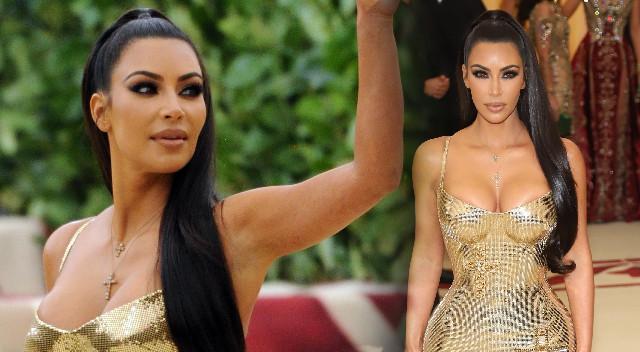 Po plotkach o ROZWODZIE, Kim Kardashian pojawiła się bez Kanye'go na Met Gali
