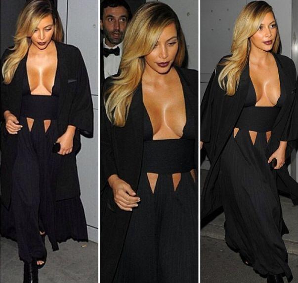 Z Kim Kardashian zrobiło się prawdzie ciacho! (FOTO)