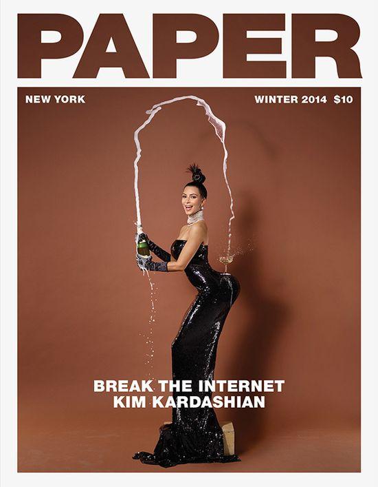 Szok! Magazyn Paper umie�ci� na ok�adce... (FOTO)